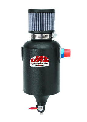 12AN Fitting Jaz Products 605-225-01 Black Breather Tank with